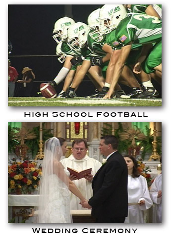 Wedding & Football