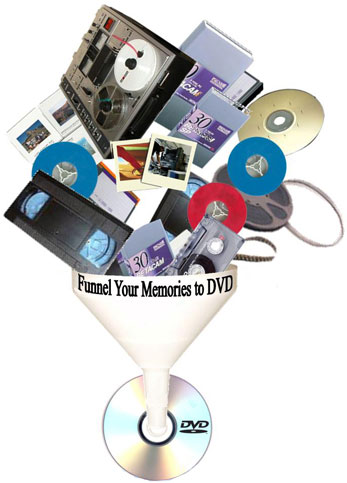Funnel Your Memories to DVD